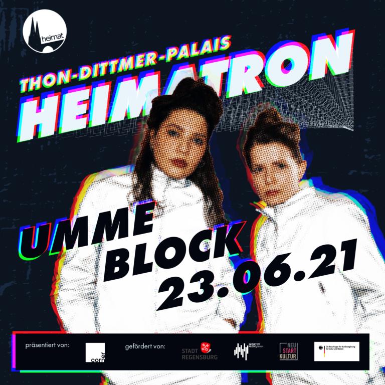 UMME BLOCK + FINE. | HEIMATRON | 23.06.21